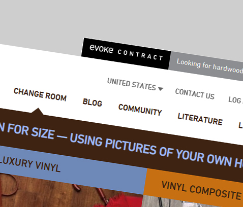 Evoke Contract Tab to site