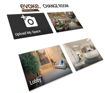evoke contract virtual change-room